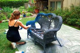 Can You Paint Wicker Furniture What Color To Paint Wicker Furniture Com How  To Weatherproof Removing .