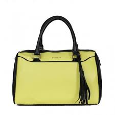 Coach Legacy Haley Medium Yellow Satchels AES