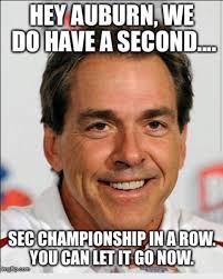 Best SEC football memes from Championship Week via Relatably.com
