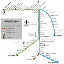 list of santa clara vta light rail stations  wikipedia