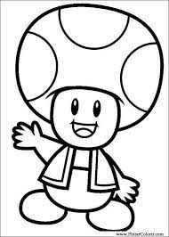 Bibi Leitura Desenhos Para Colorir Super Mario Bros