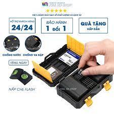 Hộp đựng thẻ nhớ - Chống nước , chống va đập - Bảo vệ thẻ nhớ và pin máy ảnh  tuyệt đối - Full HD Shop giá cạnh tranh