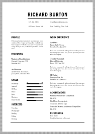 Free Architecture Resume Template By Show It Better