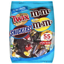 Image result for candy bars bag