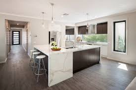 Cararra Kitchen Countertops by Granite Transformations