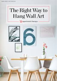 how to hang art on wall elegant decor plus a picture tips apartment therapy 2