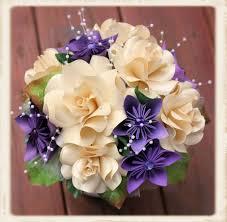 Paper Flower Bouquet Etsy Paper Flower Bouquet Origami Bouquet
