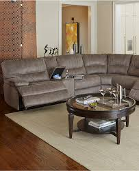 Macys Living Room Furniture Liam Fabric Power Motion Sectional Sofa Living Room Furniture
