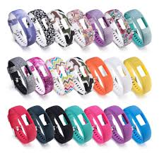 Color Pattern Comfortable <b>Silicone Replacement Bracelet Strap</b> ...