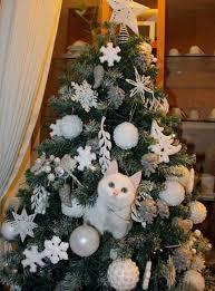 Shy Cat Photobombs My Sunderland AFCthemed Christmas Tree Cat Themed Christmas Tree