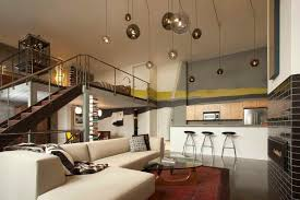 lighting for lofts. San Francisco Loft With Double-height Ceiling And Pendant Lights Lighting For Lofts