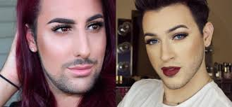 let these male make up artists give you new levels of vanity goals