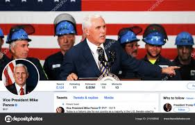 Twitter Page Mike Pence Michael Richard ...