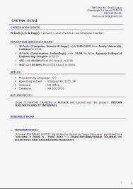 Curriculum Vitae Format Amazing Cv And Resume Templates Sample Template Example OfExcellent