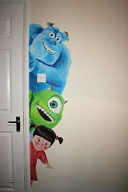 Charming Monsters Inc Lamp Superhero Wall Lamps Lovely Monsters Inc Wall Mural  Google Search High Resolution Wallpaper