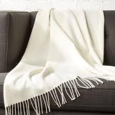 white throw blanket.  Blanket Alpaca Ivory Throw With White Blanket H