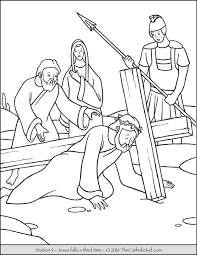 Jesus On The Cross Coloring Pages Printable At Getdrawingscom