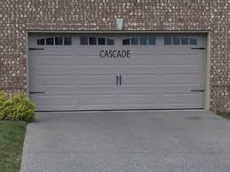 cascade garage doorWINDOWS  GARAGE DOOR PANELS  New Homes of Spring Hill TN
