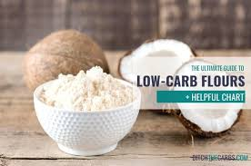 Flour To Coconut Flour Conversion Chart The Ultimate Guide To Low Carb Flours And How To Use Them