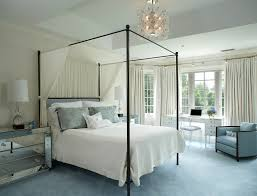 Decorating with blue carpet bedroom contemporary with white curtains white  carpet