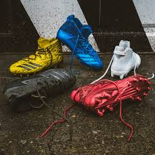 adidas 6 0 cleats. for you all of yuo who get down on the gridiron, check out two pairs that make up adidas football dipped cleat collection. 6 0 cleats a