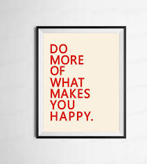 a2 do more of what makes you happy inspirational quote canvas print wall art typography motivational poster home office decor in painting calligraphy from  on inspirational quote canvas wall art with a2 do more of what makes you happy inspirational quote canvas print