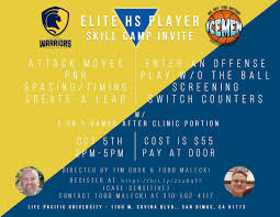 """Wesley Burke on Twitter: """"Come join us for elite camp on October 5th from  2-5!! 🗣. @CoachCook4444 @coachhend33 @toddmalecki @Devin_Ugland  @walnut_bball @DamienBasketba1… https://t.co/q31VoX65p5"""""""
