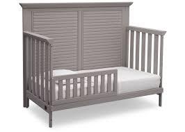 rustic crib furniture. simmons kids rustic haze 940 oakmont crib u0027nu0027 more toddler bed conversion furniture