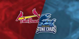 06 28 19 Palm Beach Cardinals Vs Charlotte Stone Crabs