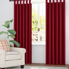 manchester insulated foamback thermal tab top curtain panels