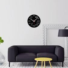 m sparkling wall clock acrylic mathematical formula clocks living room office home diy decorations wall clock 4 jpg essential trends