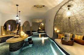 delightful designs ideas indoor pool. Morrocan Styled Indoor Pool With A Bar Delightful Designs Ideas R