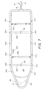 Uncategorized Iron Board Sizes patent us6763621 universal ironing board  cover with drawing