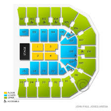 John Paul Jones Arena 2019 Seating Chart