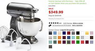 kitchenaid mixer colors 2016. kitchenaid mixer deal colors 2016 o
