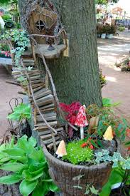 Tree Fairy Garden (via Feathered Nest Studio) If you happen to have a great  looking tree in the backyard, you can make it stand out even more by  attaching a ...