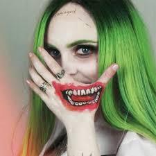 female joker makeup ideas
