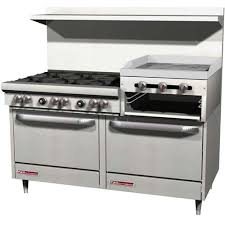 Commercial gas range Price Southbend 4601dd2rrlp Central Restaurant Products Commercial Gas Range 60
