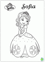 Sofia The First Coloring Pages Princess Sofia Coloring Pages