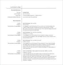 Core Java Developer Sample Resume Podarki Co