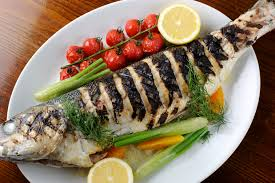 cooked fish. Modren Cooked And Cooked Fish