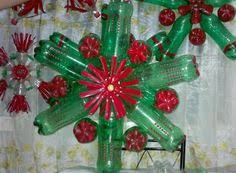Christmas Decorations Made Out Of Plastic Bottles Charming Recycled Christmas Decorations Using Bottles Chritsmas Decor 42