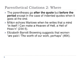Does The Period Go Inside The Quotes Adorable Period Before Paranthesis Homework Help