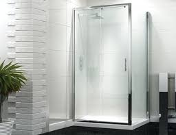 medium size of 1200 x 700 sliding door shower enclosure with tray and waste 6mm 1200mm aquafloetm iris 8mm