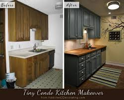 painting kitchen cabinets before and afterBefore  After My Kitchen Finally Finished