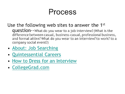 Quintessential Careers Interview Questions The Interview A Webquest Ppt Download