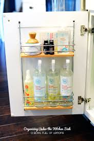 Under Kitchen Sink Organizing Organizing Under The Kitchen Sink Kitchen Sink Simple Made Pretty