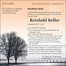Danksagungen Bestattungsinstitut Günthner