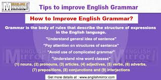 Grammar Tips Learn English Grammar Online Free English Mirror