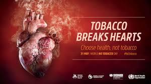 Image result for شعار روز جهانی بدون دخانیات 2018